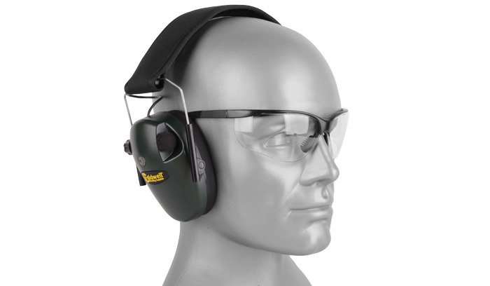 Caldwell - E-Max® Low Profile Electronic Hearing Protection with Shooting Glasses