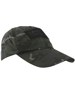 Kombat UK Tactical Operators Baseball Cap - BTP Black