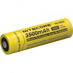 Nitecore NL1835 Rechargeable Li-ion 18650 Battery 3500mAh.