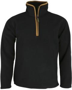 Country Fleece Pullover - Black