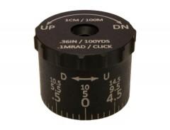 Sightron Tactical Elevation Turret for SIII6-24x50 .1 MRAD 14.5 MRAD