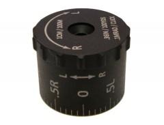 Sightron Tactical Windage Turret .1 MRAD Click for SIII 8-32x56 LRMDCM or 6-24x50 LRFFPMRAD