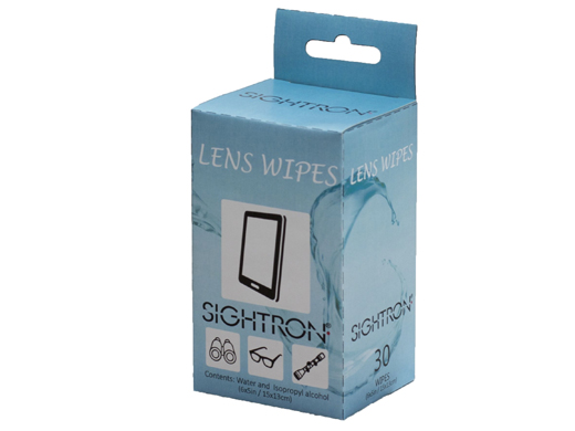 Sightron Lens Wipes (Pack of 30)