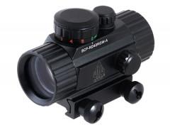 "UTG 3.8"" 40mm ITA Red/Green CQB Dot Sight with Integral Mount"