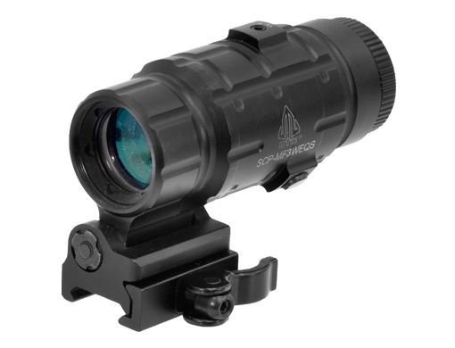 UTG 3X Magnifier with Flip-to-side QD Mount 1