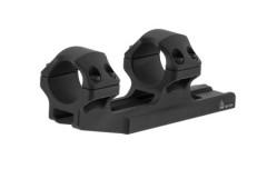 """UTG ACCU-SYNC 1"""" Medium Profile 34mm Offset Picatinny Rings, Black"""