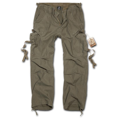 Brandit M65 Vintage Style Trousers - Olive