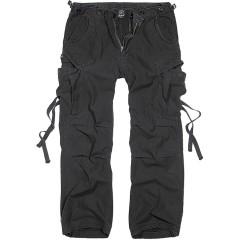 Brandit M65 Vintage Style Trousers - Black