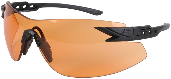 Edge Eyewear - Notch Tigers Eye Vapor Shield Shooting Glasses