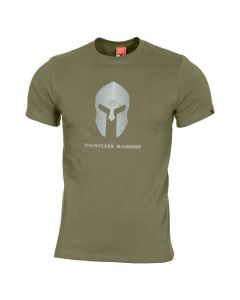 Pentagon Spartan Helmet T-Shirt - Olive