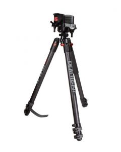 Bog Death Grip Clamping Carbon Tripod Shooting Stick