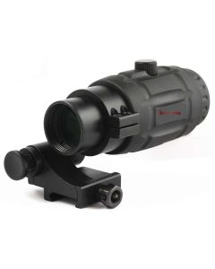 Vector Optics 3x Magnifier inc Flip Side Mount