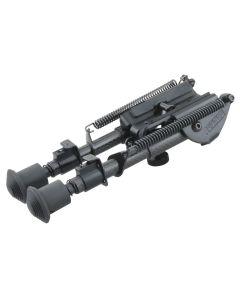 Vector Optics Rokstad 6-9 inch Fixed Bipod for Q/D Swivel with Carbon Fibre Legs
