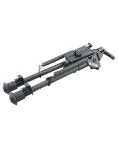 Vector Optics Rokstad 9-13.5 inch Swivel Bipod for Q/D Swivel with Lever Lock and Carbon Fibre Legs
