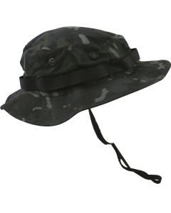 Kombat UK Boonie Hat - US Style Jungle Hat - BTP Black - Medium