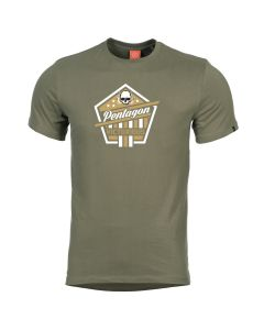 Pentagon Victorious T-Shirt - Olive Green