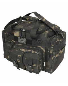 Kombat UK Saxon 35 Litre Holdall - MT Black - Optics Warehouse