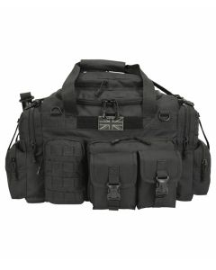 Kombat UK Saxon 50 Litre Holdall - Black - Optics Warehouse