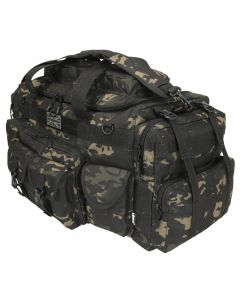 Kombat UK Saxon 100 Litre Holdall - MT Black - Optics Warehouse