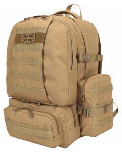 Kombat UK 50 Litre Expedition Pack - Coyote - Optics Warehouse