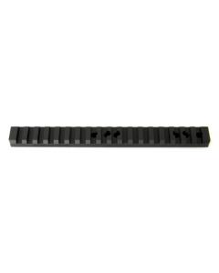 REED Resolution Ruger 10/22 Extended Black Aluminium Picatinny Rail