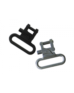 "Talon Q/R swivels 1"" STAINLESS or BLACK, Stainless"