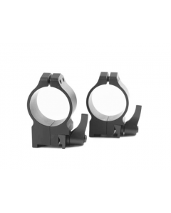Warne Maxima 1 inch or 30mm Quick Detach Scope Rings, X High, 30 mm