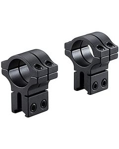 """BKL-263 1"""" Long Double Strap Dovetail Rings"""