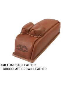 55B LOAF BAG LEATHER - CHOCOLATE BROWN LEATHER