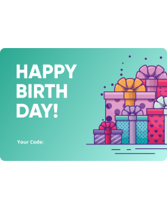 Optics Warehouse Birthday Gift Card