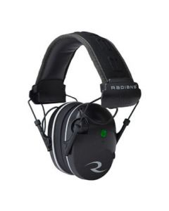 Radians R3200 Dual Mic Ear Muffs - NRR23 (Black)