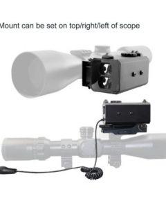 700m OLED Picatinny Laser Rangefinder