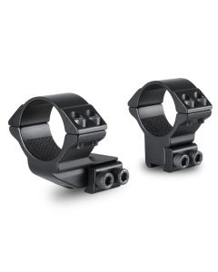 Hawke 30mm 2 Piece 1 inch 9-11mm High Reach Forward Scope Rings
