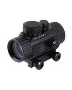 "UTG 3.8"" 40mm ITA Red/Green CQB Dot Sight with Integral Mount"