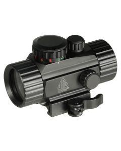 UTG 3.8″ 40mm ITA Red/Green Circle Dot Sight w/Integral QD Mount