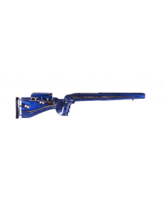 GRS Adjustable Stock, Hybrid Blank None Inletted Short Action Black/Blue Optics Warehouse