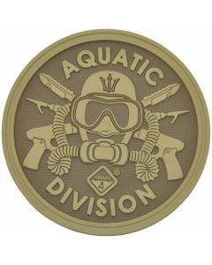 Hazard 4 Aquatic Division Morale Patch - Coyote