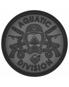 Hazard 4 Aquatic Division Morale Patch - Black