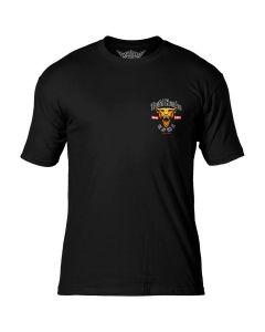 7.62 Design USMC Devil Dog Black T-Shirt