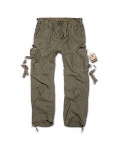 Brandit M65 Vintage Style Trousers - Olive
