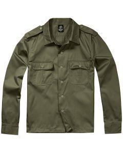 Brandit US Shirt Long Sleeve - Olive