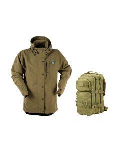Ridgeline Monsoon Classic Jacket - Teak