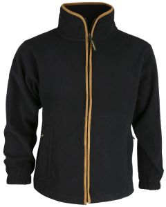 Country Fleece Jacket - Black