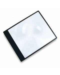 "Carson 2x Full Size (10.75"" x 8.25"" x flat) MagniSheet Page Magnifier"