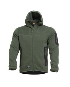 Pentagon Falcon Pro Hooded Fleece Jacket - Camo Green