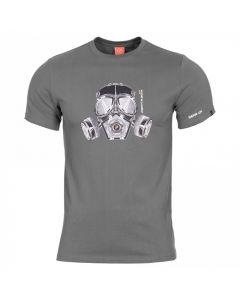 Pentagon Gas Mask T-Shirt - Wolf Grey