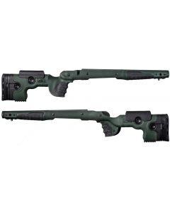 GRS Adjustable Stock, Bifrost Savage 116 Long Action Right Hand - Green