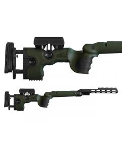 GRS Adjustable Stock, Warg R8 Professional Green Optics Warehouse