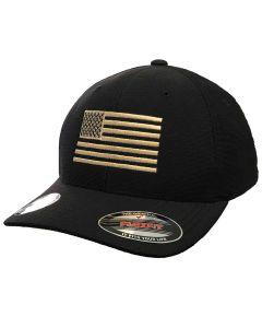 7.62 Design FlexFit Cool/Dry Flag Hat Black