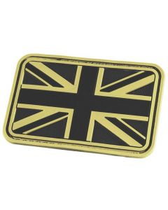 Hazard 4 Union Jack / UK Flag Morale Patch - Glow in the Dark